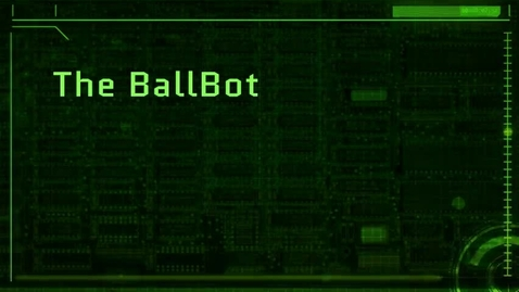 Thumbnail for entry The Ballbot, by Gabriel