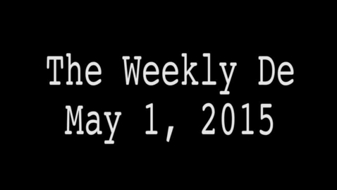 Thumbnail for entry 2015.05.01 - Weekly De