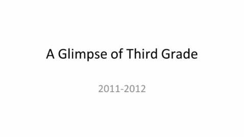 Thumbnail for entry 2011-2012 Brookville 3rd Grade