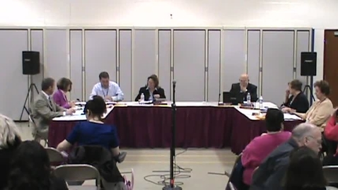 Thumbnail for entry BOE Meeting, 3/17/14 - Part 2