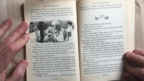 Thumbnail for entry Read Aloud ch 29-32 James Giant Peach 5-11-20