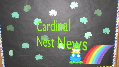 Thumbnail for entry Cardinal Nest News 3.31.11
