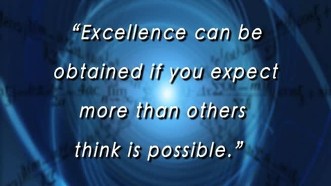 Thumbnail for entry Excellence in Education - October 2011