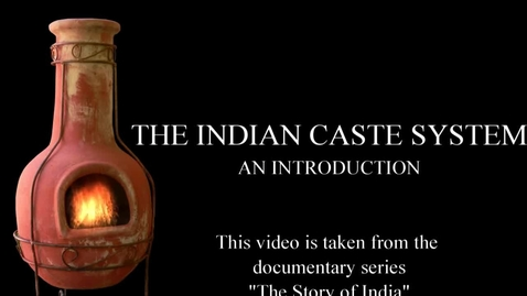 Thumbnail for entry The Indian Caste System - An Introduction Video 1