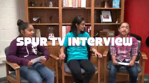 Thumbnail for entry Spur TV NDI-NM DIrector Interview - Lizeth