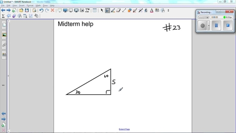 Thumbnail for entry Midterm help guide Question 23