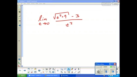 Thumbnail for entry Juda Math Calculus examples IVT, Precise Definition of Limits and Limits