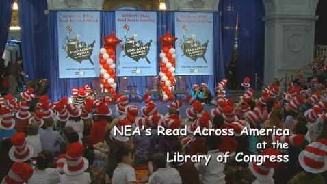 Thumbnail for entry NEA Celebrates Read Across America