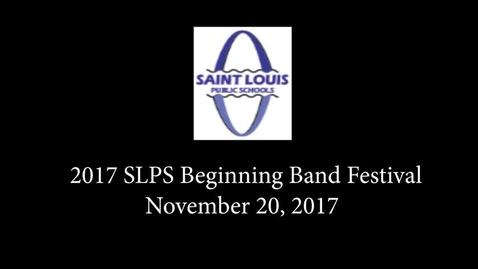 Thumbnail for entry 2017 SLPS Beginning Band Workshop