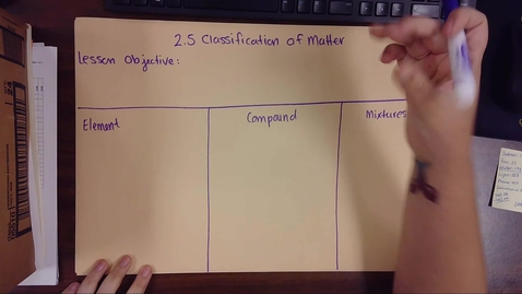 Thumbnail for entry 2.5 Classification of Matter