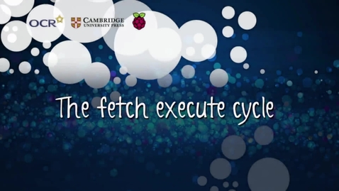 Thumbnail for entry The fetch execute cycle
