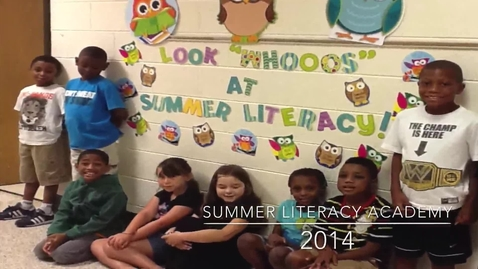 Thumbnail for entry Summer Literacy Academy