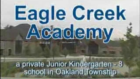 Thumbnail for entry Eagle Creek Academy - School Intro