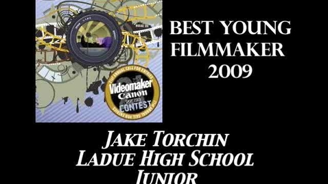 Thumbnail for entry Young Filmmaker of the Year - Videomaker Award