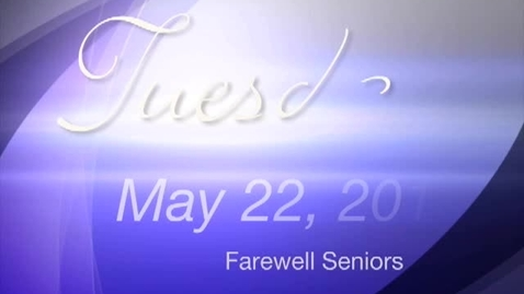 Thumbnail for entry Tuesday, May 22, 2012