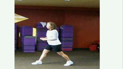 Thumbnail for entry lunges with squat