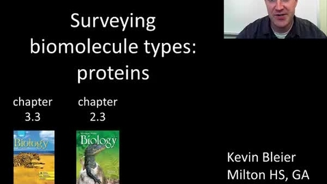 Thumbnail for entry Introduction to proteins