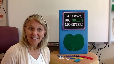 Thumbnail for entry Story Time:  Go Away Big Green Monster