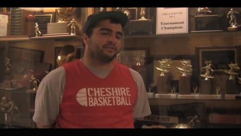 Thumbnail for entry CHS Senior Spotlight - Superfan - Amin Taheri
