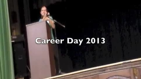 Thumbnail for entry Career Day 2013