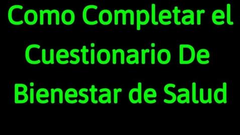 Thumbnail for entry Wellness Screening on Skyward - Spanish