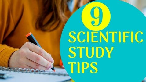 Thumbnail for entry 9 Best Scientific Study Tips | Exam Study Tips for Students | Letstute