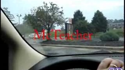 Thumbnail for entry McTeacher Project