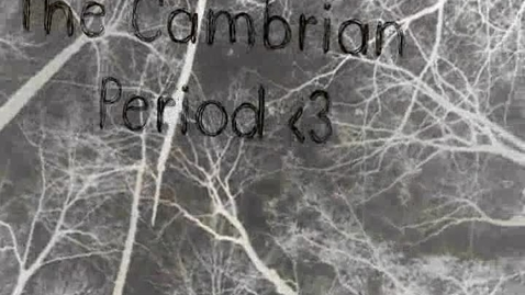 Thumbnail for entry Cambrian time