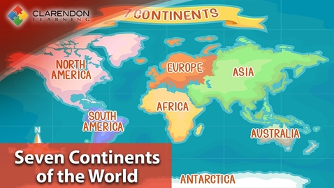 Thumbnail for entry 7 Continents of the World | Learn all about the Seven Continents of the world in this fun overview