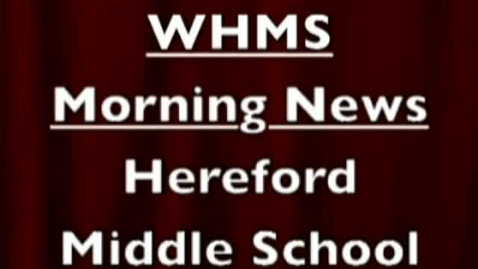 Thumbnail for entry 3-8-12 WHMS Morning News