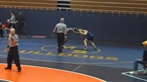 Thumbnail for entry Wrestling Sectionals Pontiac 2011 1