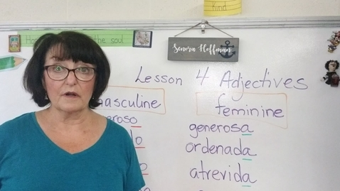 Thumbnail for entry Lesson 4 Part 2 adjectives