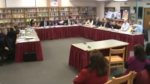 Thumbnail for entry Hackettstown Board of Education Meeting - December 17th, 2014