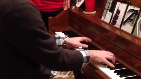Thumbnail for entry Let It Go on the piano.