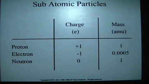 Thumbnail for entry Atomic Theory 1c - Isotopes