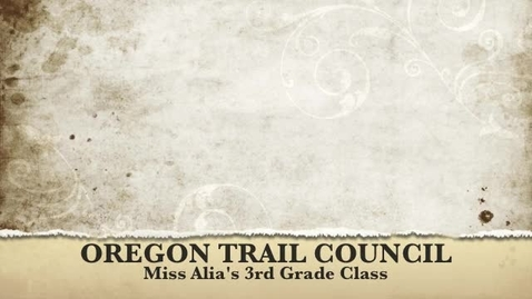 Thumbnail for entry Oregon Trail Council Meeting 2011