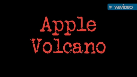 Thumbnail for entry Apple Volcano