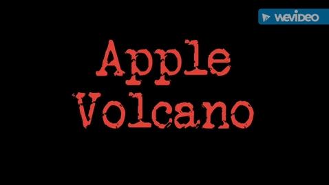Thumbnail for entry Apple Volcano