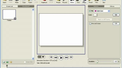 Thumbnail for entry Illustrating Animations in Frames