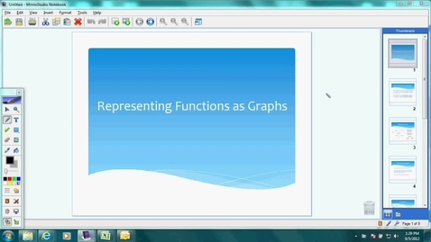 Thumbnail for entry Day 6: Graphing Functions