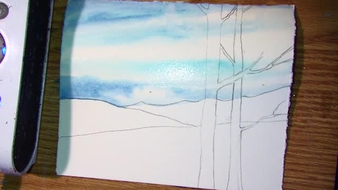 Thumbnail for entry watercolor ground with shading