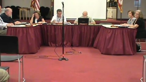 Thumbnail for entry BOE Meeting, 5/18/15 - Part 1