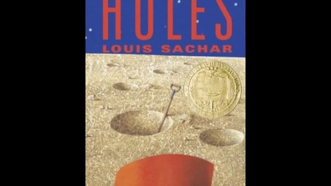 Thumbnail for entry A book trailer:  Holes by Louis Sachar