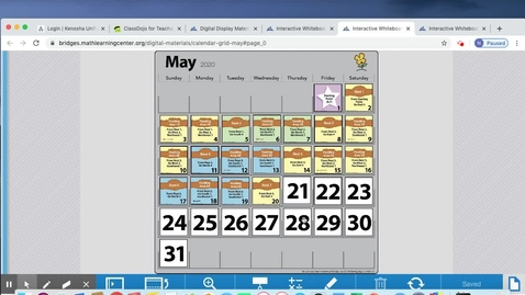 Thumbnail for entry May 21 Calendar