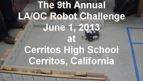 Thumbnail for entry 2013 LA/OC Robot Challenge
