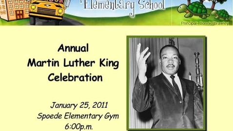 Thumbnail for entry Spoede 3rd Annual MLK Celebration