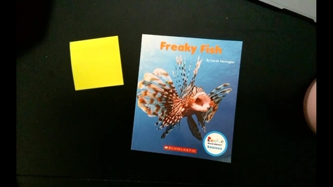Thumbnail for entry Read Aloud   Freaky Fish (from 3/26)