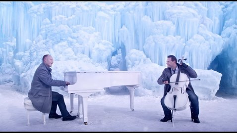 "Thumbnail for entry Let It Go (Disney's ""Frozen"") Vivaldi's Winter - The Piano Guys"