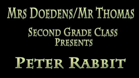 Thumbnail for entry Peter Rabbit 2015 Doedens/Thomas
