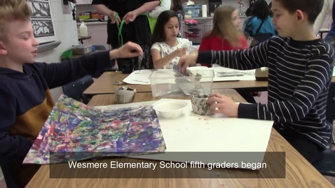 Thumbnail for entry Inside the Classroom: Wesmere Elementary School, 02.12.2020